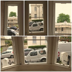 Sash window draft-proofing